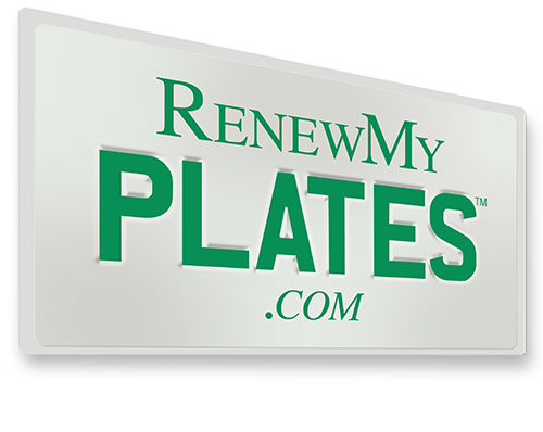 Renew My plates - license plate